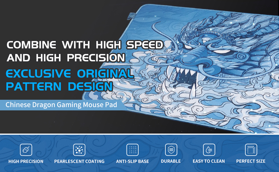 Hotline Games Chinese Dragon Gaming Mouse Pad