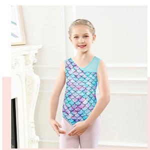 Dance Leotards for Girls Gymnastics