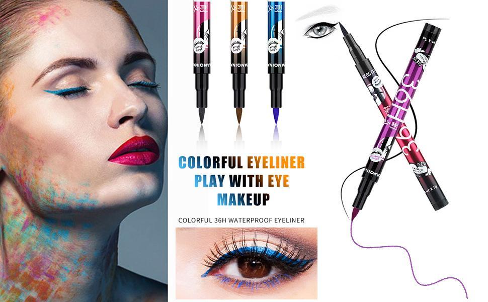 4 color eyeliner