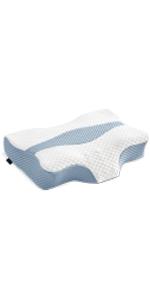 Contour Memory Foam Pillow(Blue)