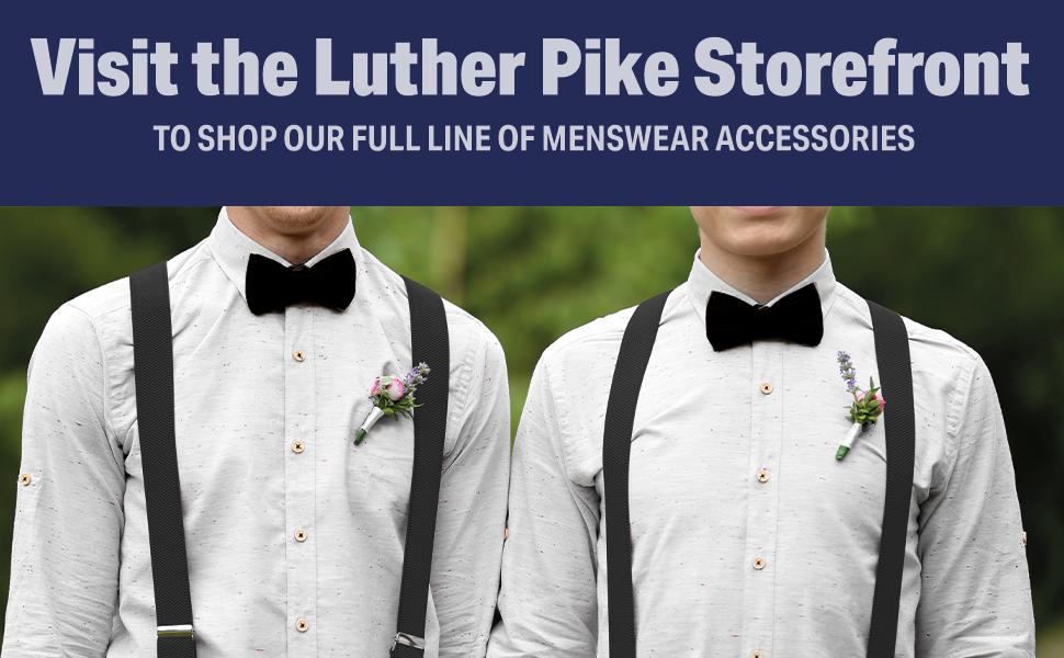 full line of menswear accessories