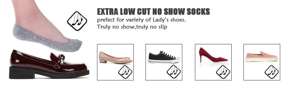 fit most low cut shoes