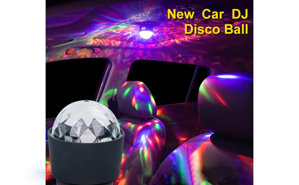 car dj light