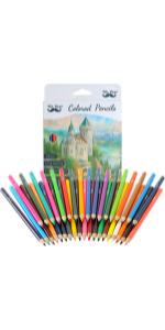 Mr. Pen- Colored Pencils