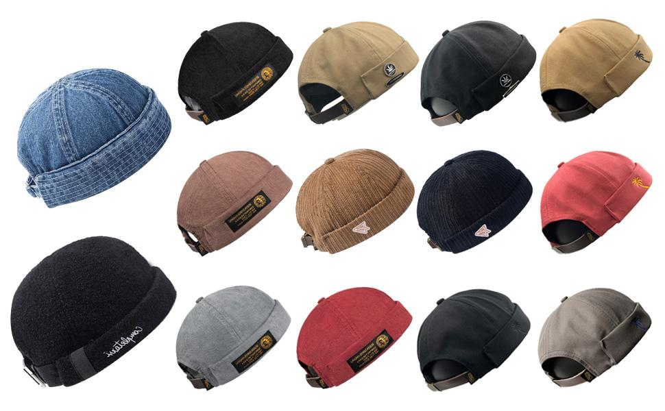 Denim Beanie Hat
