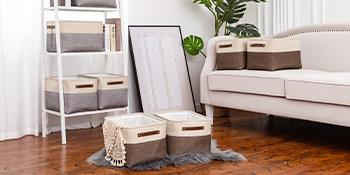 VK Living Large Foldable Storage Bin
