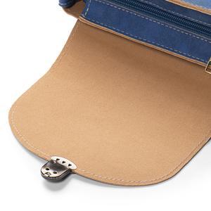 handtasche klein blau