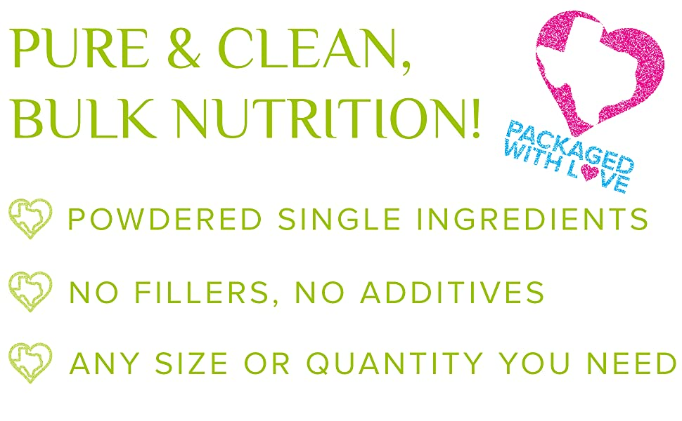 pure and clean bulk nutrition
