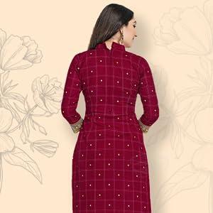 Miraan Cotton Printed Readymade Salwar Suit for Women (MIRAANSGPRI1804, Brown) SPN-FOR1