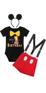 mouse birthday party supply 1st birthday outfit baby boys