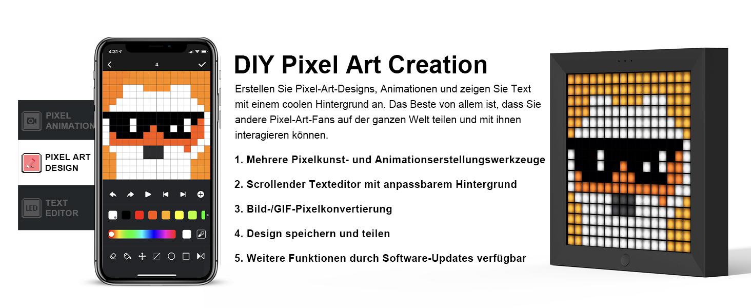 Pixel-Bildschirm