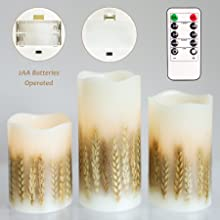 LED Candles Battery Operated