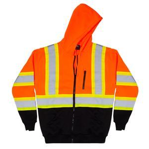 Hi vis safety sweatshirts for men