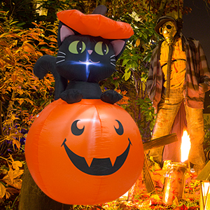 Halloween Lighted Decorations Inflatables