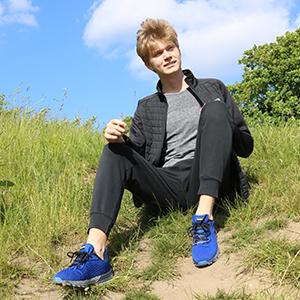 mens blue tennis shoes