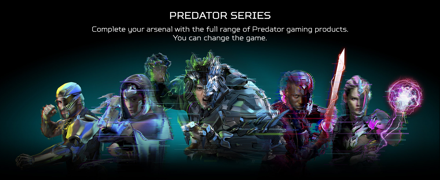 acer predator gaming accessories