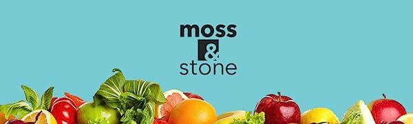 Logo Moss & stone blender