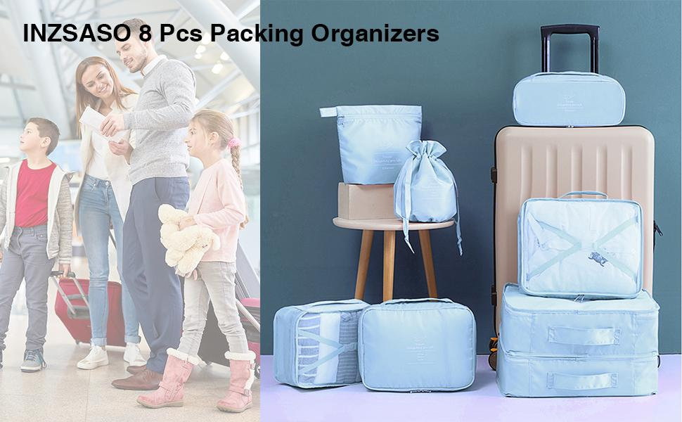 travel packing organizers packing cubes travel packing bags luggage organizer travel cubes