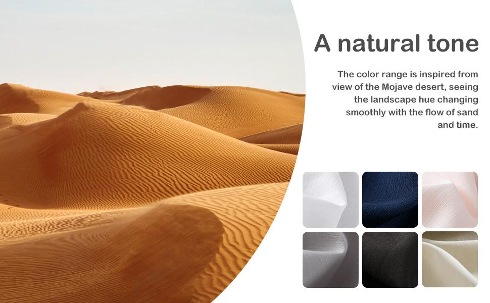 natural tone sheet set
