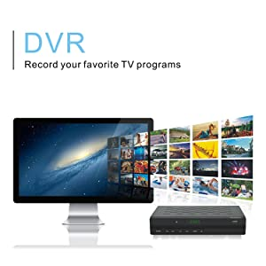 iView 35000STBIII Converter Box - DVR - Record your favorite TV Programs