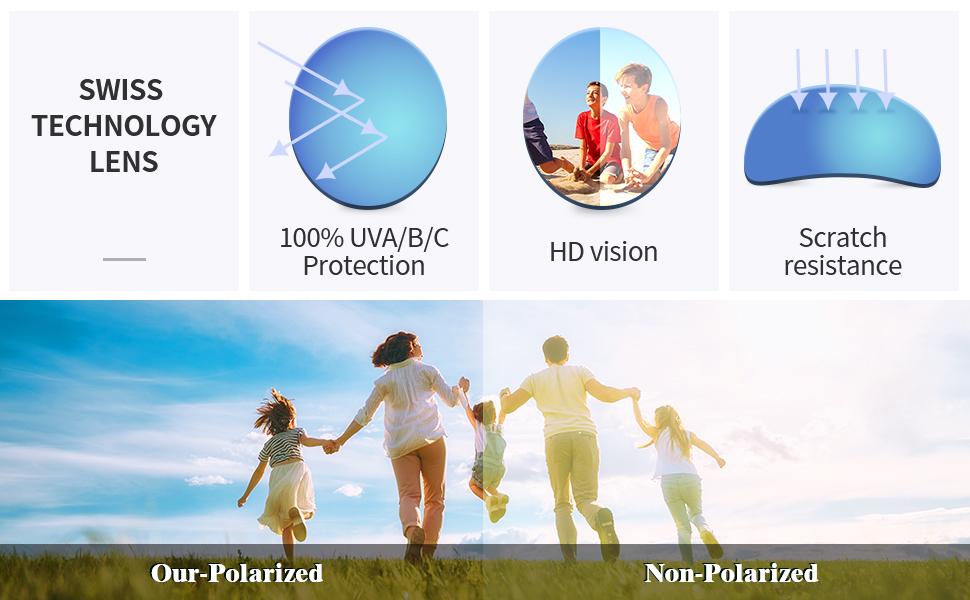 kids sunglasses polarized uv protection