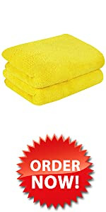 Microfiber Wash Towel for Car Detailing and Drying