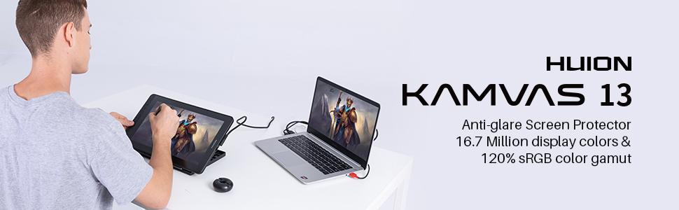 HUION Kamvas 13 Drawing Tablet