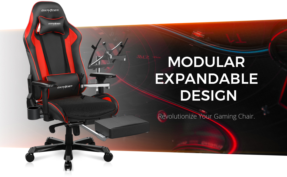 DXRacer K Series in Red A+ Page Image 2