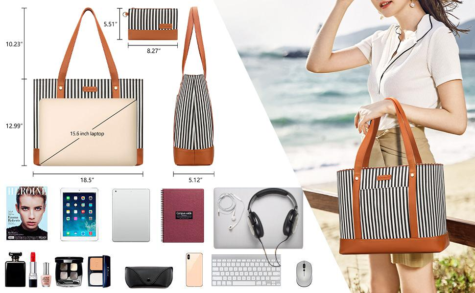 Large Capacity Laptop/ Tote Bag