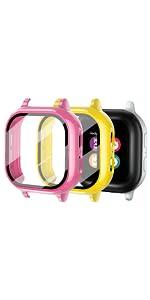 Gizmo Watch 2 Protector Pinkamp;amp;amp;Yellow