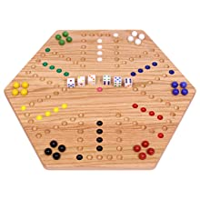 """Aggravation Board, Wooden, Painted Holes, Double Sided, 16"""""""