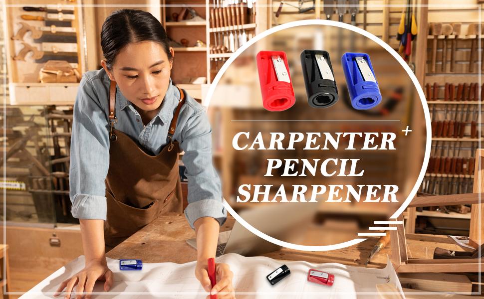 Carpenter Pencil Sharpener Manual Portable Woodwork Pencil Cutter