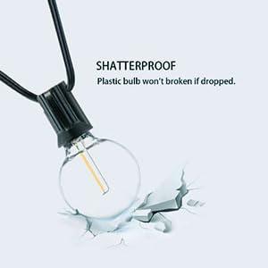 shatterproof string lights