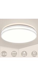 Plafonnier LED 20 W