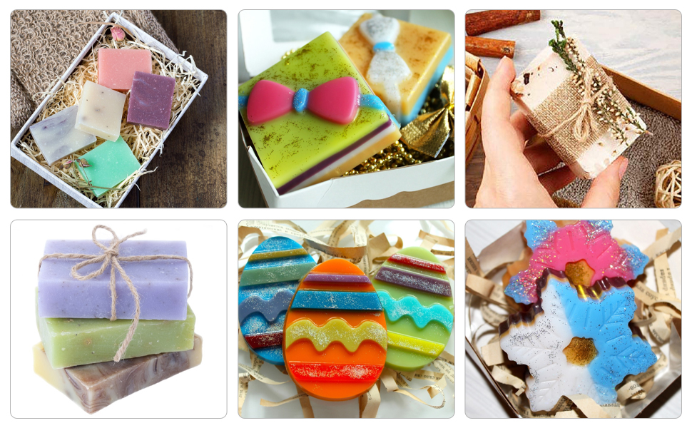 22 cavities,make simple bath soap,desserts, cakes, bread, chocolate, pudding, jelly, etc.