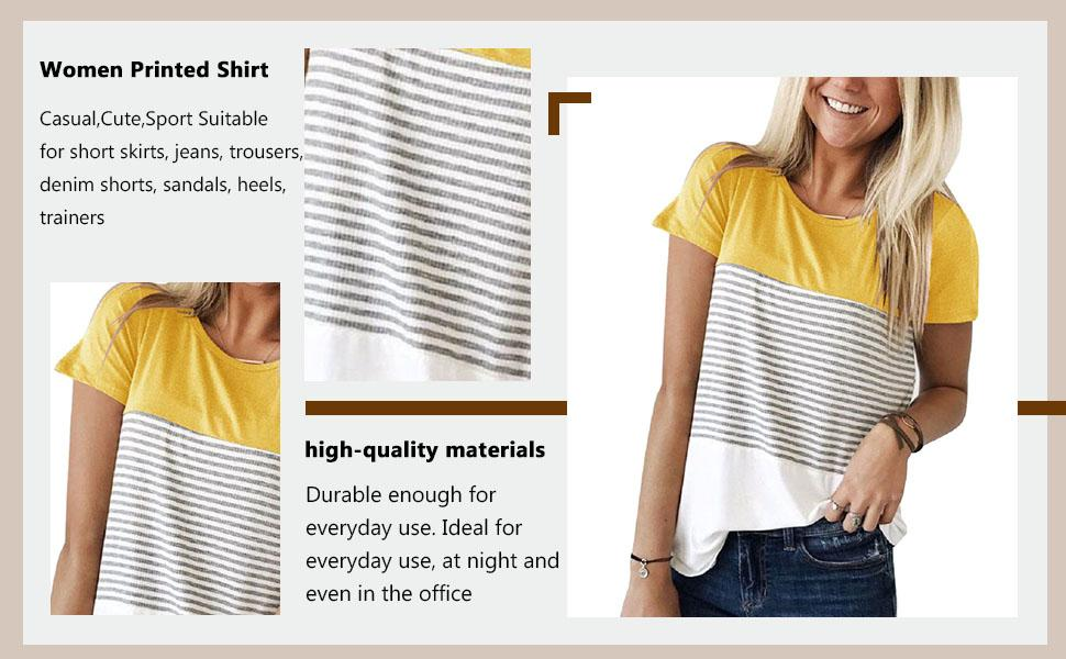 Bluas de Mujer Camisa Algodón