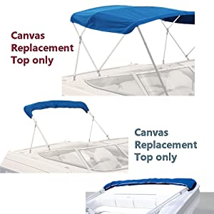 Bimini Replacement Top Canvas Covers