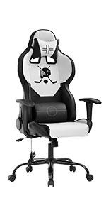 BM-7228-White Gaming chair