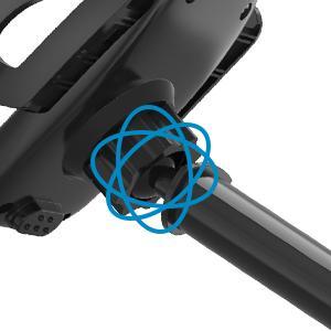 360° rotation adjustable