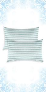 Green Cooling Pillowcases