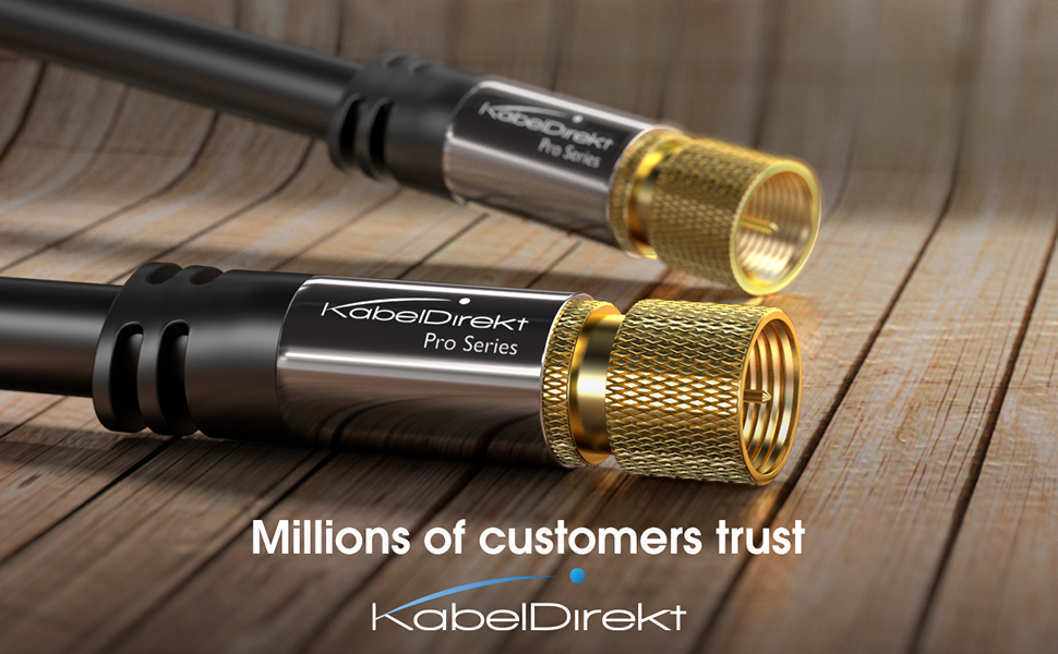 Satellite Cables by KabelDirekt