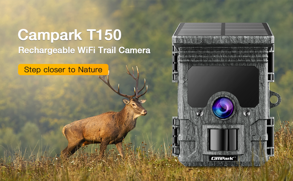 rechargeable trail camera with solar panel