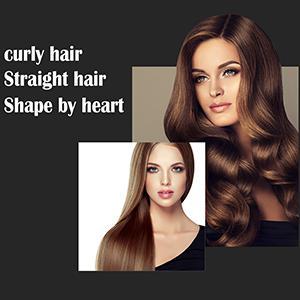 CURLY HAIR STRAIGHT HAIR SHAPE BY HARET