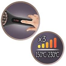 Tre temperaturinställningar
