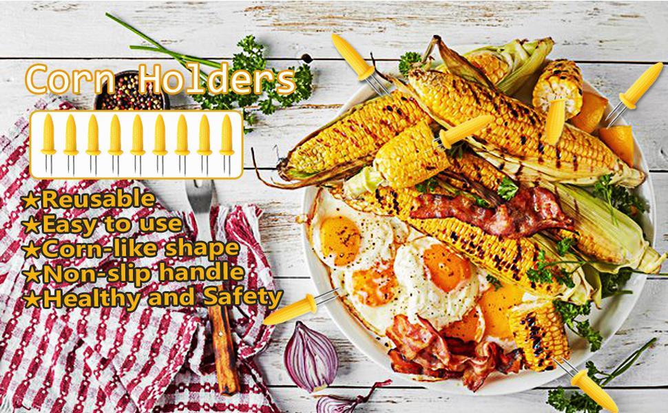 corn holders corn on the cob