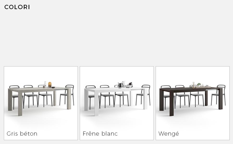 Table extensible Giuditta