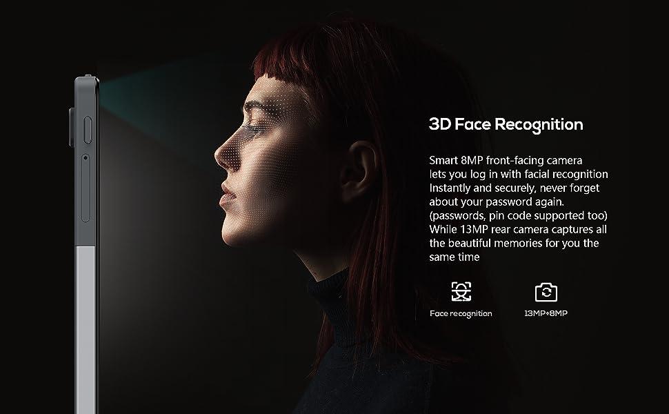 KingPad series tablet M 10 smart 3D face recognition