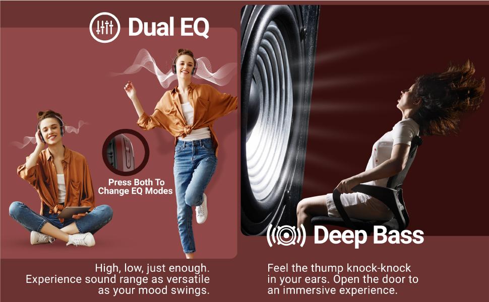 Infinity Glide 510, Glide 510, Dual EQ Headphones