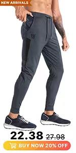 MENS LIGHWEIGHT JOGGER PANTS