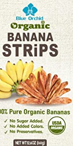 Blue Orchid Banana Strips